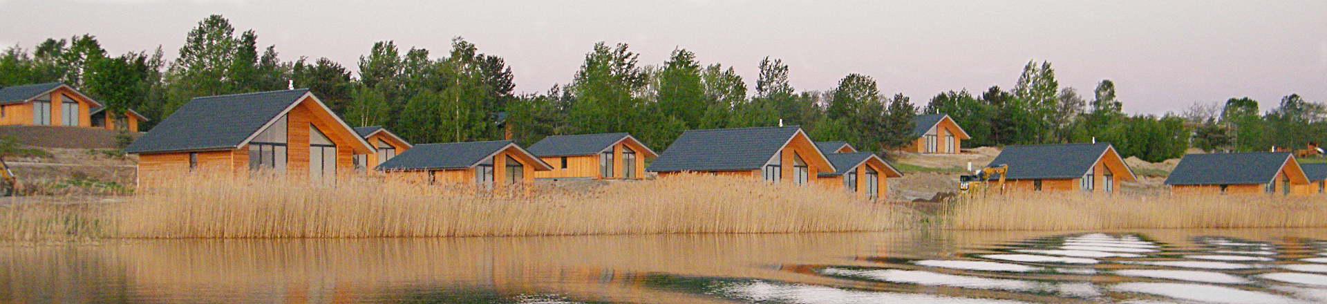 Ferienhäuser am See Gröbern