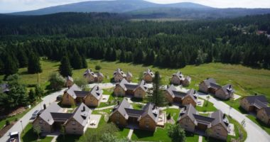 Torfhaus Harzresort Luftbild