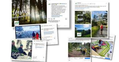 Facebook und Instagram Kanäle vom Oberharz