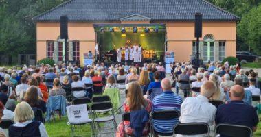 Konzert in Glücksburg, Veranstaltung im Schlosspark