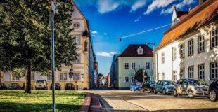 Blick in eine Straße in Ingolstadt (c) Pixabay