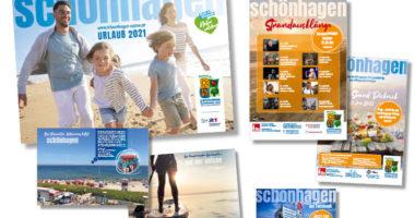 Print-Medien der Tourist-Information Schönhagen