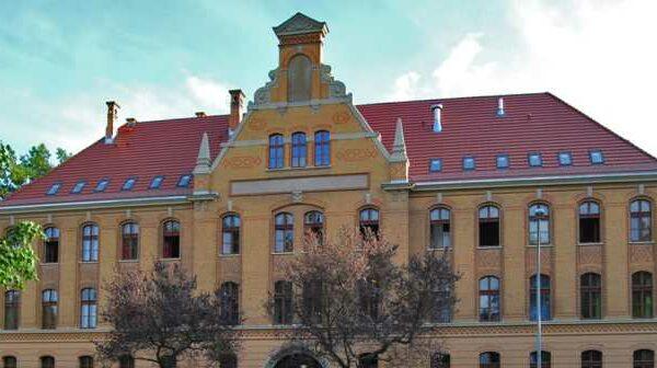 Hauptgebäude des Bestandsobjektes für Seniorenwohnungen in Stralsund